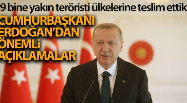 Cumhurbaşkanı Erdoğan, G20 Liderler Konferansı'ndan önemli açıklamalar