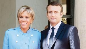 Macron'un eşi de koronaya yakalandı