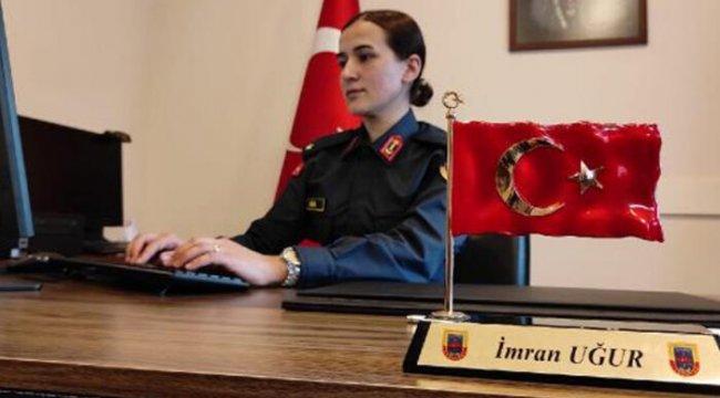 Çocukluk hayalinin peşini bırakmadı! İstanbul'un tek kadın jandarma karakol komutanı oldu